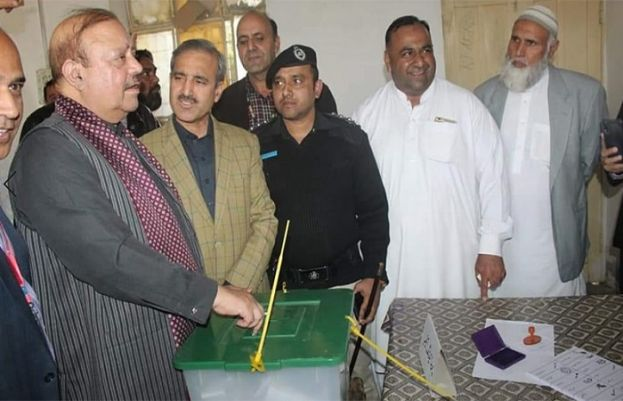 Polling for the by-election on LA-III Mirpur, Azad Jammu and Kashmir kicked off today