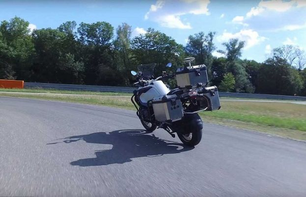 The motorcycle that drives itself