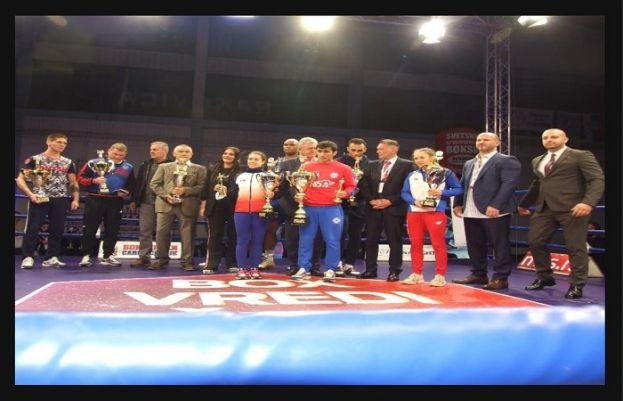Serbia's Vakhid Abasov won the Best Men's Boxer Award at the Belgrade Winner Tournament