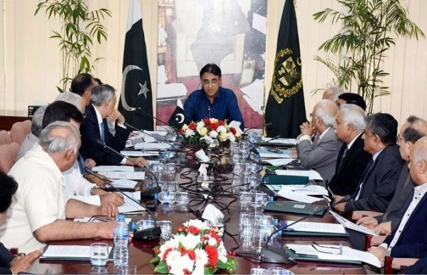 Finance Minister Asad Umar chairs meeting of ECC