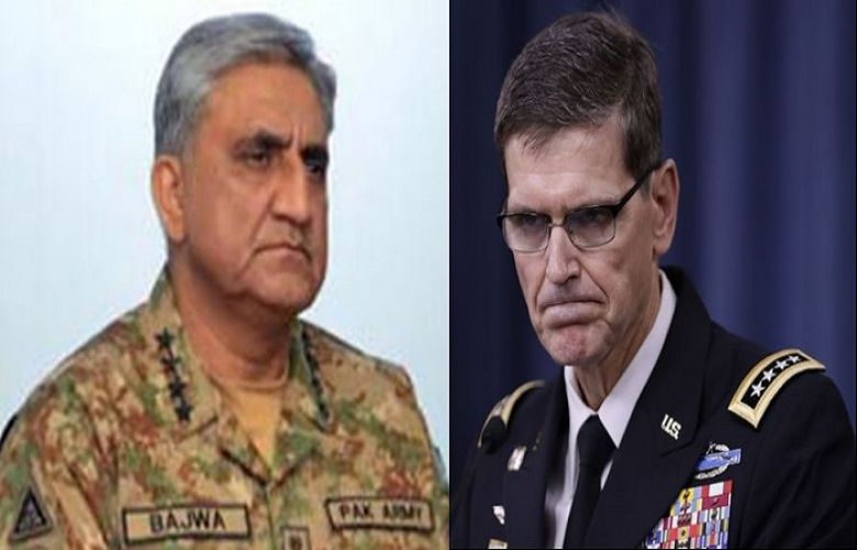 Army Chief, US Central Command chief discuss Pak-US security cooperation