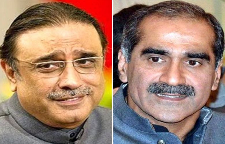 Production Orders Of Asif Zardari, Saad Rafique issued