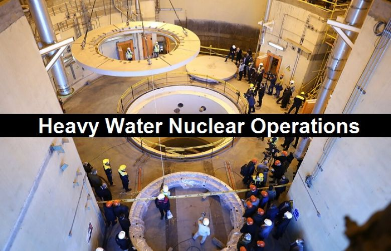 Heavy Water Nuclear Operations.