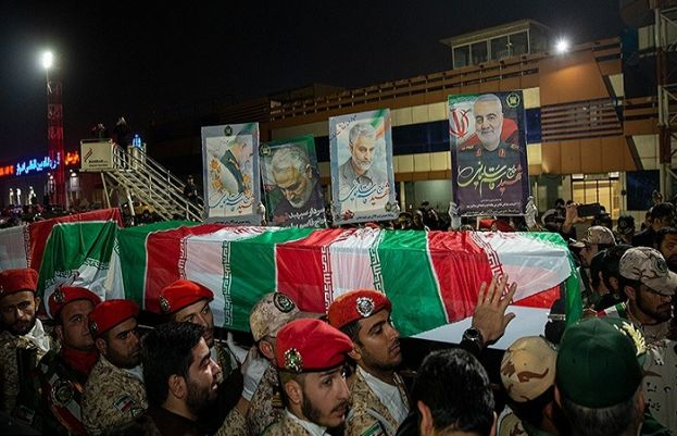 Remains of Gen. Soleimani arrive in Iran for cross-country funeral