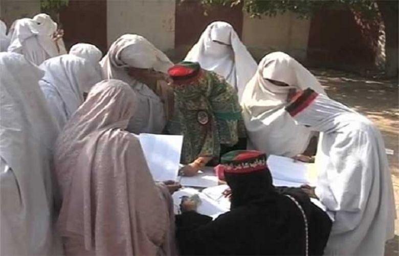 For first time in history, women cast votes in Upper Dir