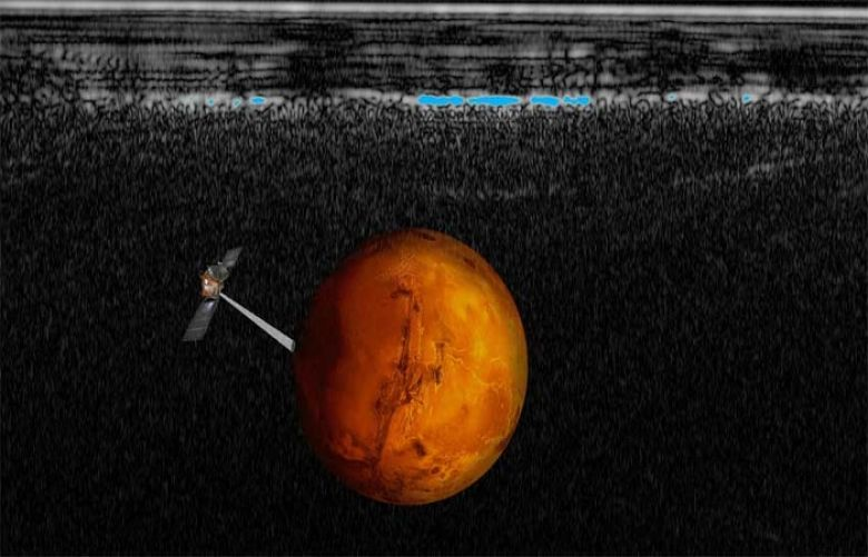 Scientists identify lake of liquid water under surface of Mars