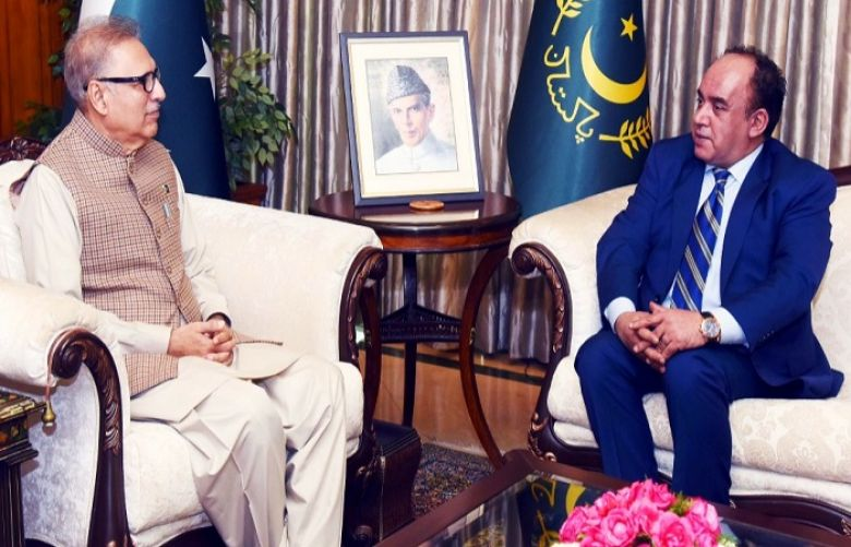 Pakistan wants close trade ties with African continent: President Alvi