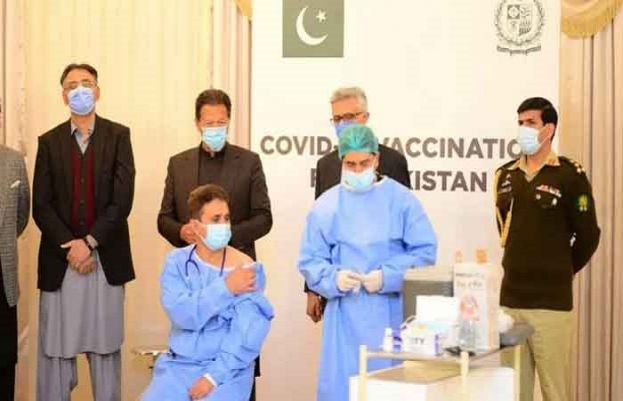 Pakistan begins nationwide coronavirus vaccination drive