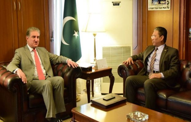 FM Qureshi express desire to strengthen relations with Malaysia