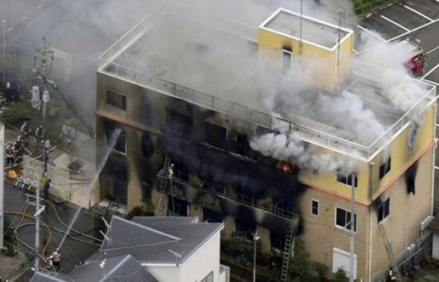At least 33 killed in 'appalling' arson attack on Japanese animation studio