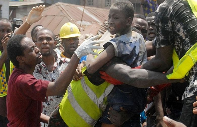 Eight killed, 37 rescued in collapse of Nigeria building