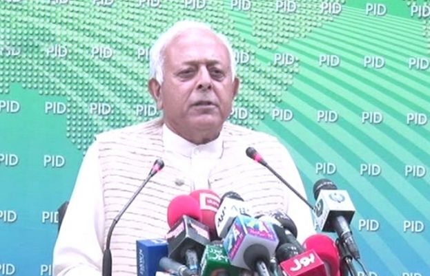 Federal Aviation Minister Ghulam Sarwar Khan