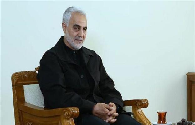 Iranian commander, Major General Qassem Soleimani