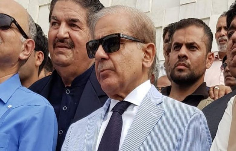 Opposition Leader in the National Assembly Shehbaz Sharif