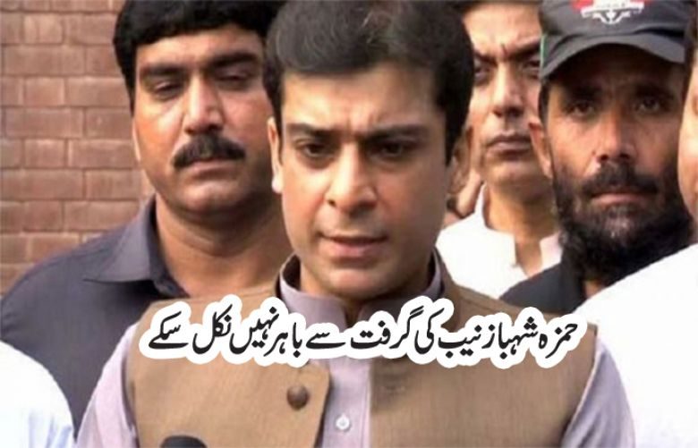Court extends Physical remand of Hamza Shehbaz till July 24