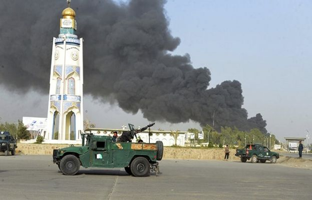 At least 12 killed in Taliban attack on Afghan police headquarter