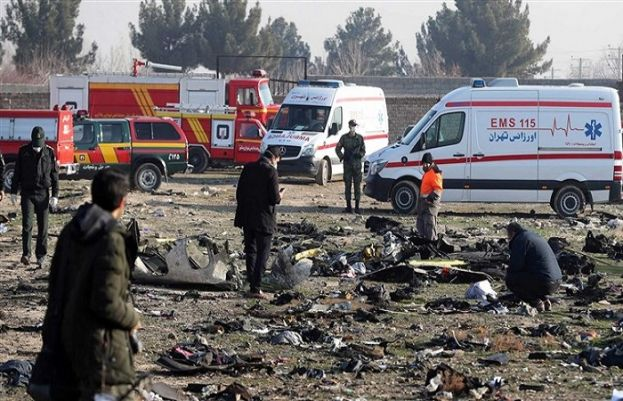 Iran says is certain no missile hit Ukrainian plane before crash