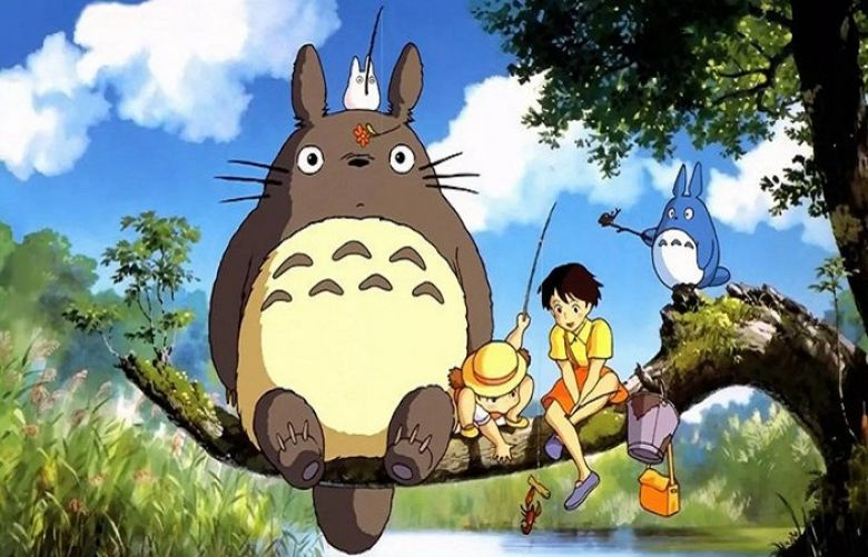'My Neighbor Totoro' follows two sisters who move with their father to the countryside where they come across Totoro and other forest creatures.