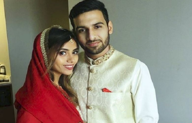 Zaid Ali T just shared a picture with his newly-wed wife