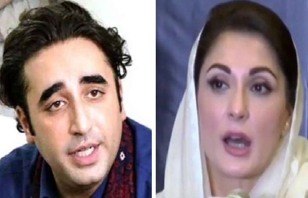 PTI won through rigging in Kashmir elections: allege Bilawal,Maryam