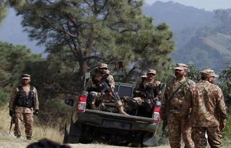 Two soldiers embrace martyred in North Waziristan IED explosion