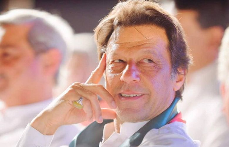 Pakistan Tehreek-e-Insaf (PTI) chairman Imran Khan
