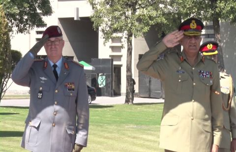 German Defence Chief, COAS discuss Matters of mutual interest