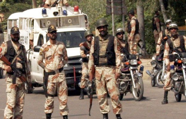 Rangers Sindh arrests 22 suspects form Karachi