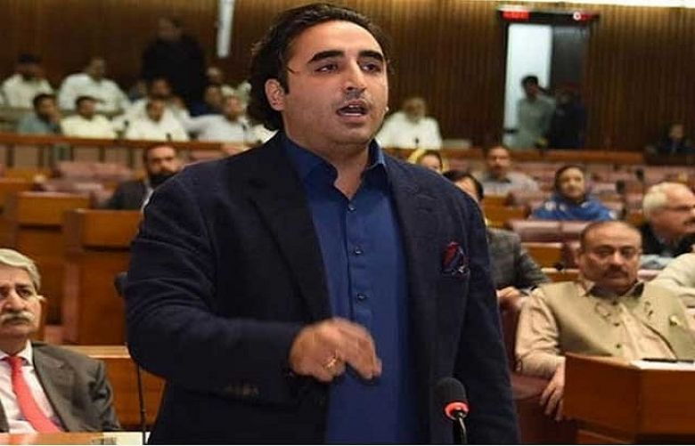 Pakistan People's Party (PPP) Chairperson Bilawal Bhutto Zardari