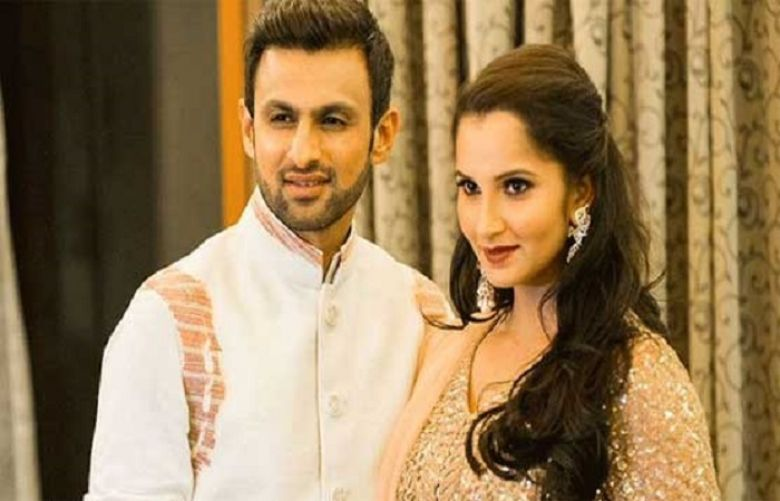 All-rounder Shoaib Malik and Sania Mirza