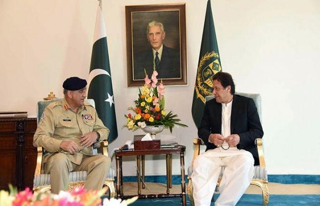 Chief of Army Staff (COAS) General Qamar Javed Bajwa called on Prime Minister Imran Khan