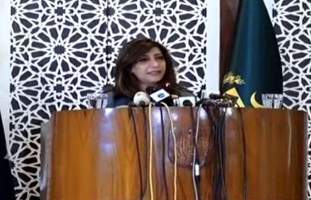 Foreign Office Spokesperson Aisha Farooqui