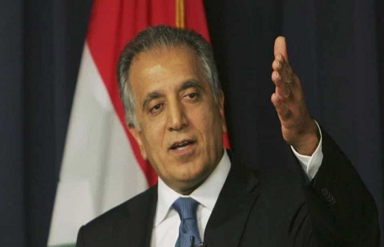 US special envoy for peace in Afghanistan, Zalmay Khalilzad