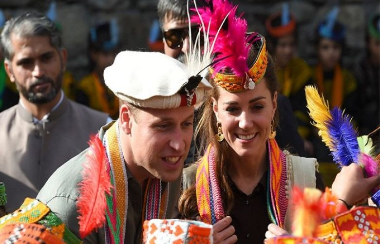 Prince William and Kate socialise in Kalash Valley