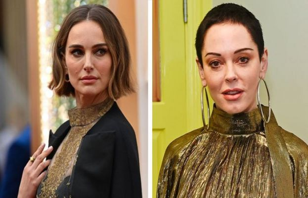 Rose McGowan blasts Natalie Portman Oscars cape, calls her a 'fraud'