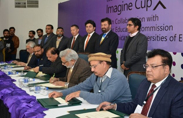 (HEC) and (MP) launched Imagine Cup 2019