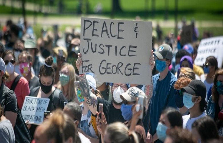 Protests in Washington, other US cities as demonstrators demand justice for George Floyd