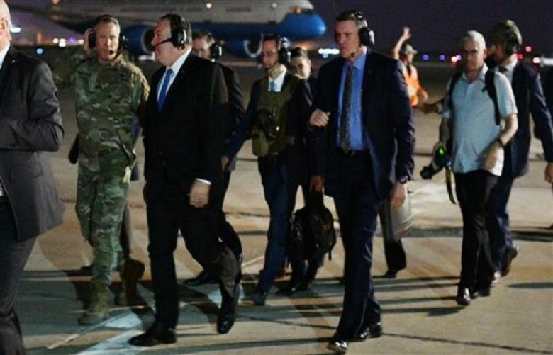 Pompeo repeats anti-Iran threats in surprise visit to Iraq