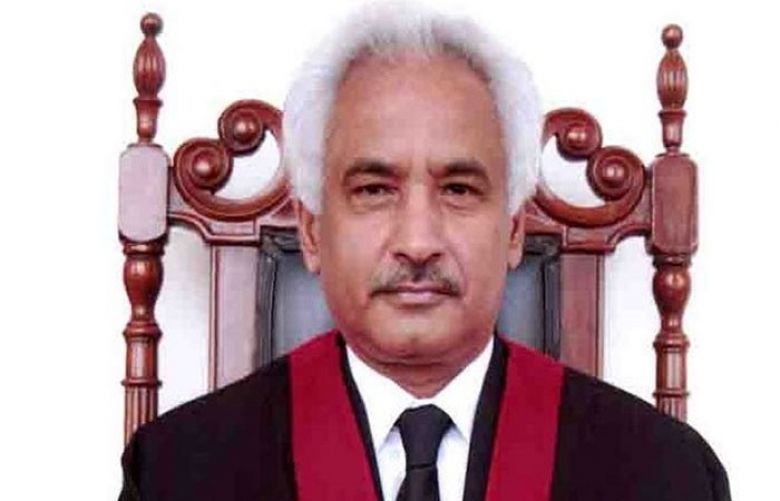Newly appointed judge Qazi Amin Ahmed
