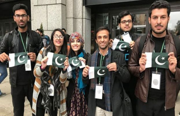 Pakistani students