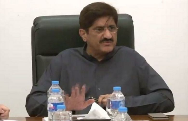 Sindh Chief Minister Syed Murad Ali Shah