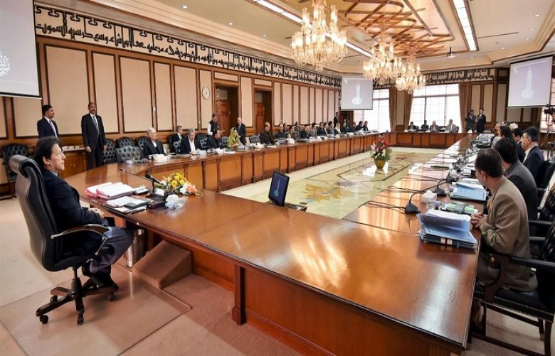 Federal Cabinet strongly condemns presidential rule and Indian brutalities in IOK