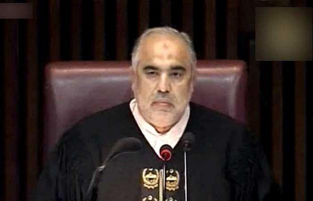 Speaker Asad Qaiser