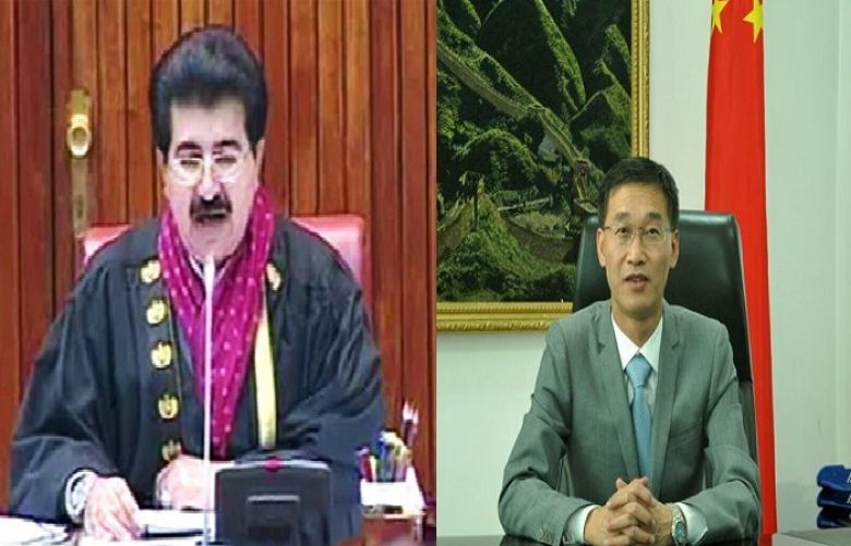 Regional development is common agenda of Pak-China: Sanjrani