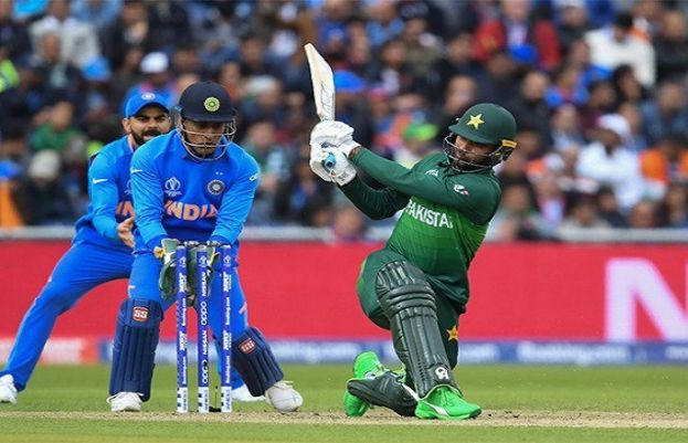 Pakistan clash with India in battle of nerves at Old Trafford