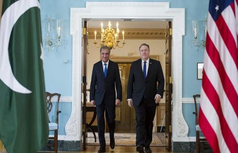 Foreign Minister Shah Mahmood Qureshi had a telephonic call with US Secretary of State Mike Pompeo