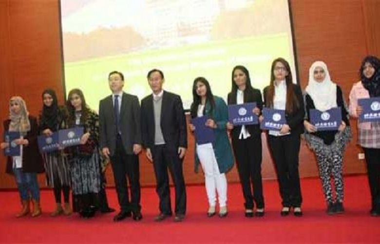 Pakistani students completed Chinese Language course this year