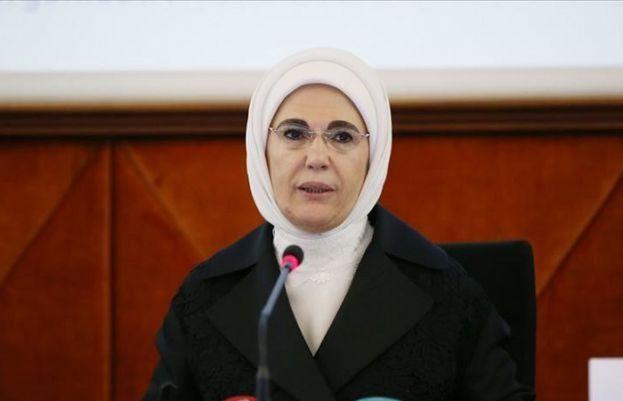 First Lady of Turkey Emine Erdogan