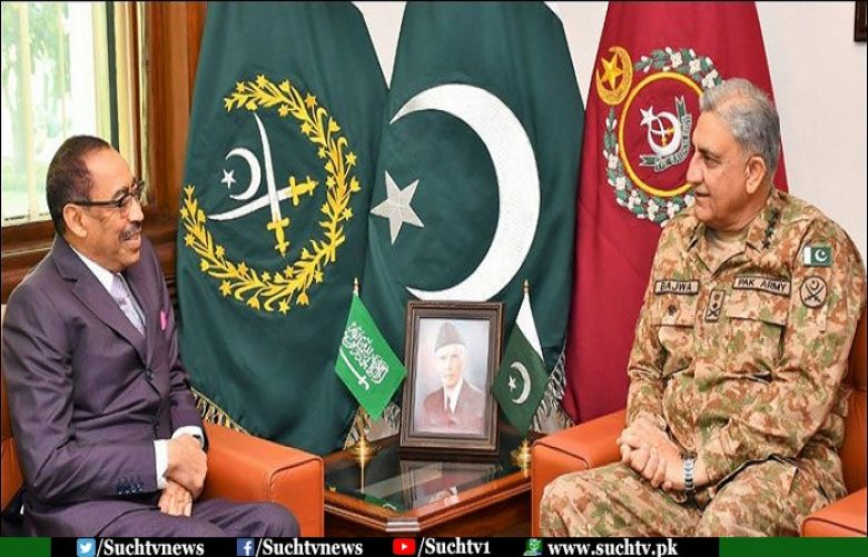 COAS, Saudi Assistance Defence Minister discuss regional security situation