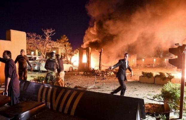 Quetta hotel blast